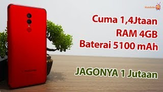 Harga 1 Jutaan RAM 4GB Baterai 5100 mAh | Paling Awet Untuk Harian | Unboxing & Review