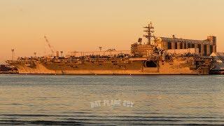 USS Ronald Reagan (CVN-76) Moored at the Port of Brisbane | Talisman Sabre 2017