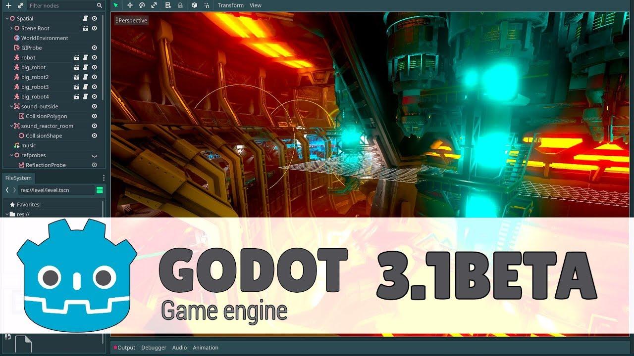 Godot 3 1 Beta Released! - YouTube