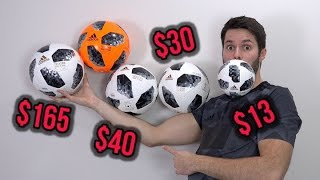EVERY ADIDAS TELSTAR 18 BALL - Which Ball Should You Buy? (2018 World Cup)