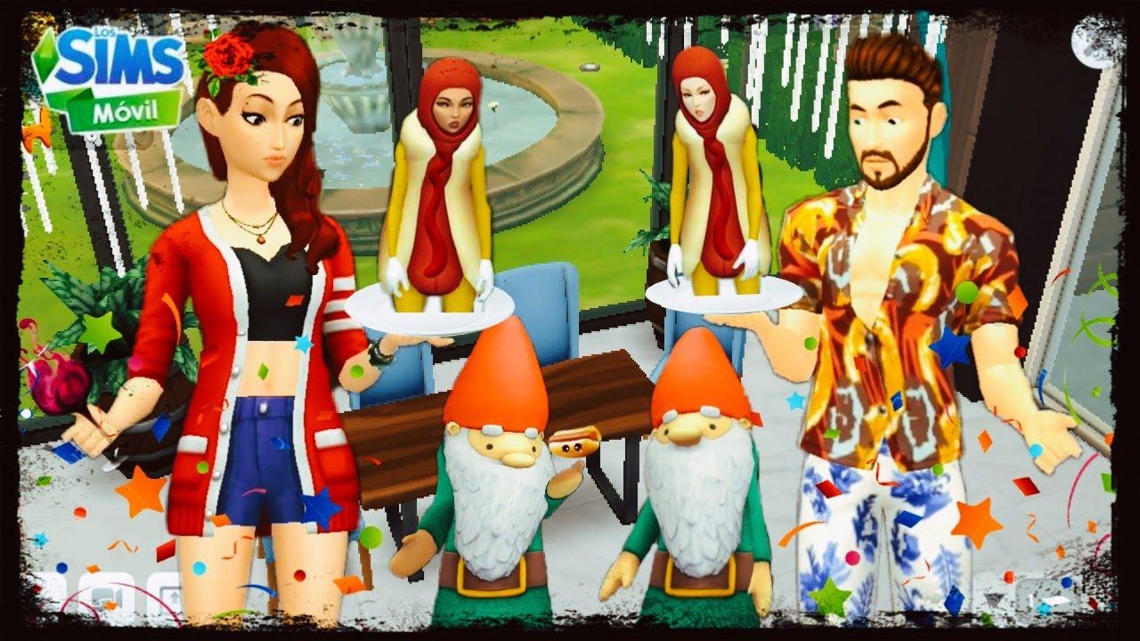 El Famoso Disfraz De Salchicha😡🔥 Evento Vuelta al cole!!   Los Sims Movil   nauel2015