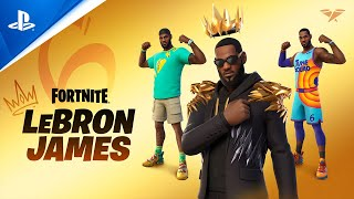 Fortnite - LeBron James Joins Fortnite's Icon Series | PS5, PS4