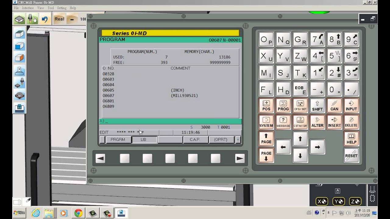 CNC-Software-Virtual machine