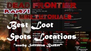 Dead Frontier Mini Tutorials -  Loot spots Around Secronom Bunker (3)