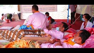 Khum Bahadur Khadka Addressing 9th Day Aamaran Ansan At Khulla Manch