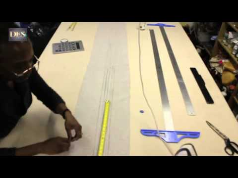 How to make Tuck Valances part 1