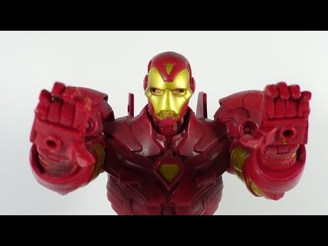 Marvel Legends Icons Iron Man (Gold Variant) Figure Review