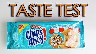 Taste Test - Chips Ahoy Root Beer Float Cookies