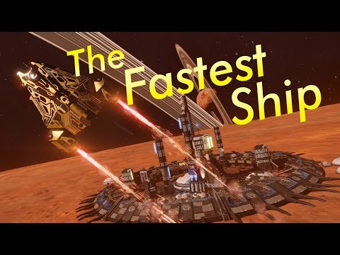 How to Build: Fastest Ship in-Game ft. CMDR Mini-Kill | Elite Dangerous