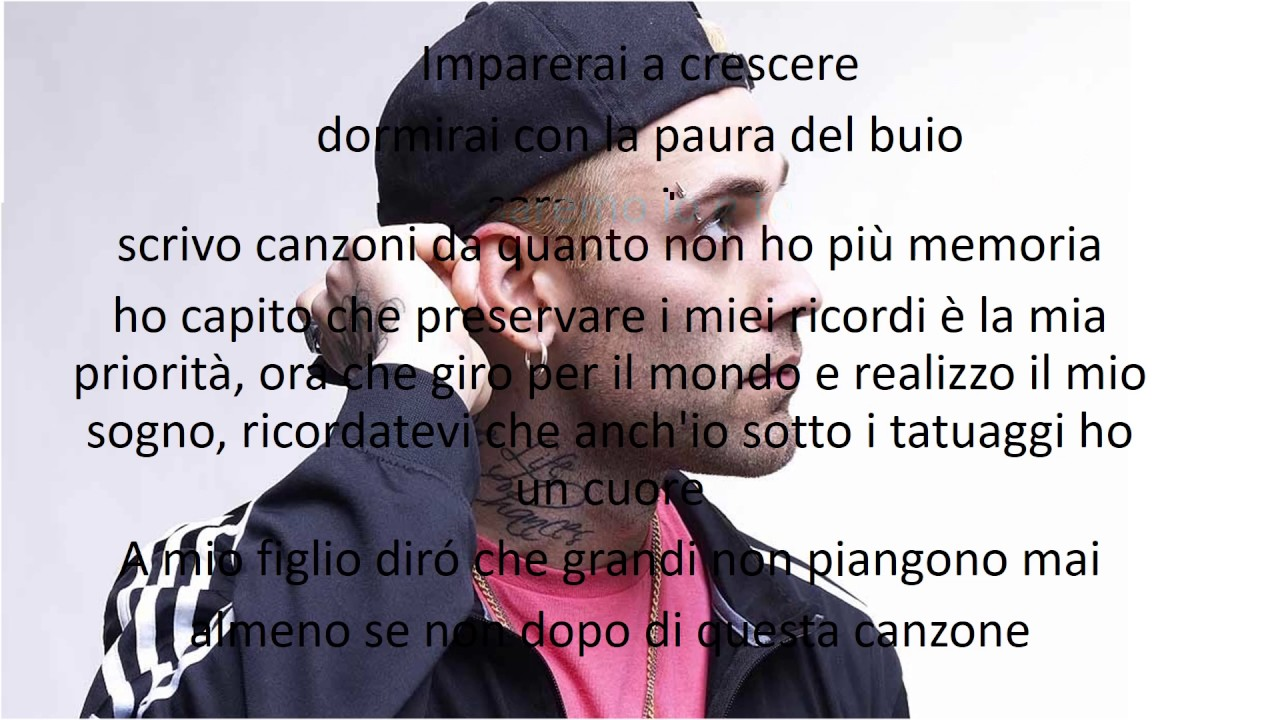 Mr Rain I Grandi Non Piangono Mai Testo Youtube