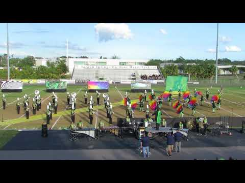 PHUHS Category 5 Hurricane Marching Band @ 2017 Tarpon Springs Outdoor Music Festival