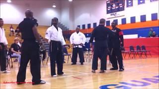 Gambar cover Southern Martial Arts Championship Black Belt Fights: Taekwondo vs  PaSaRyu
