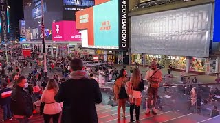 New York City Live Walking in Manhattan at Friday Night (October 23, 2020)