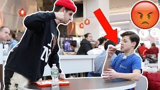 EATING PEOPLES FOOD PRANK!