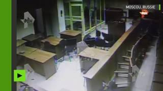 Fusillade dans un tribunal de la région de Moscou : la vidéo de la CCTV enfin diffusée