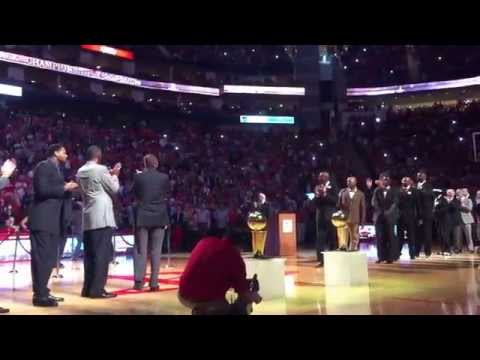 Houston Rockets 1993-94 & 1994-95 NBA World Championship 20 Year Anniversary - March 19, 2015