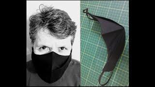 Molde de Mascara de Proteção 3D Masculina