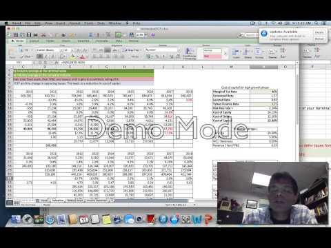 Valuation Tools Webcast #8: Terminal Value