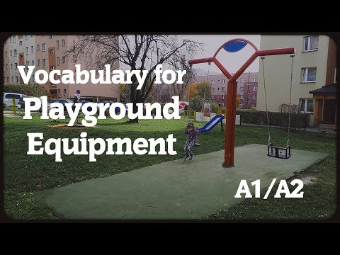 Vocabulary For Playground Equipment
