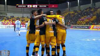 Gols Sorocaba 8 x 2 Dracena - Quartas de Final Jogo 2 Liga Paulista de Futsal 2017 (15/08/2017)