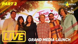 Pt. 2 'Three Words To Forever' Grand Media Launch happening now! #ThreeWordsToForever