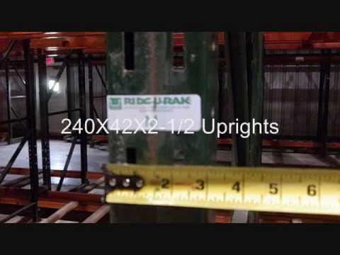 Used Pallet Rack Sale Houston, Texas - YouTube