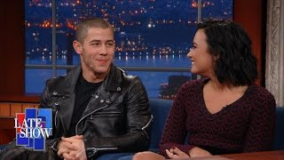 Why Are Demi Lovato & Nick Jonas Always In The Shower?