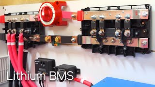Lithium Battery Management & Monitoring Install