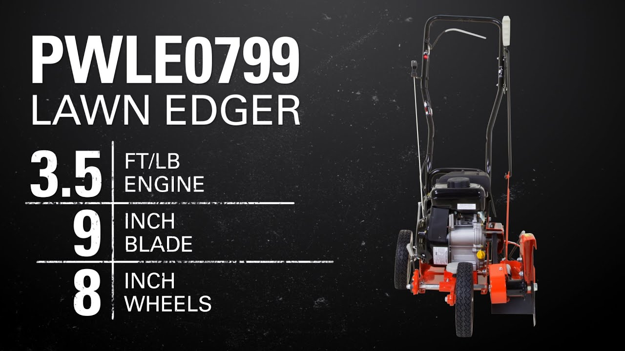 how to use a lawn edger youtube