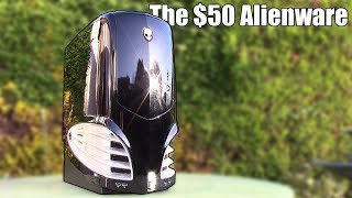 This HUGE Alienware gaming PC cost me just £40 ($50), but what's inside?...