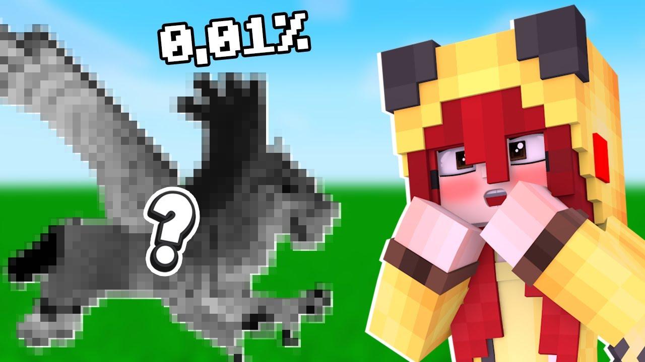 DESCOBRI UM MOB RARO DO MINECRAFT - Minecraft Dragões #71