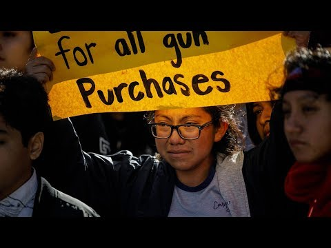 Thousands Of Students Walk Out Of School To Protest Gun Violence | Los Angeles Times