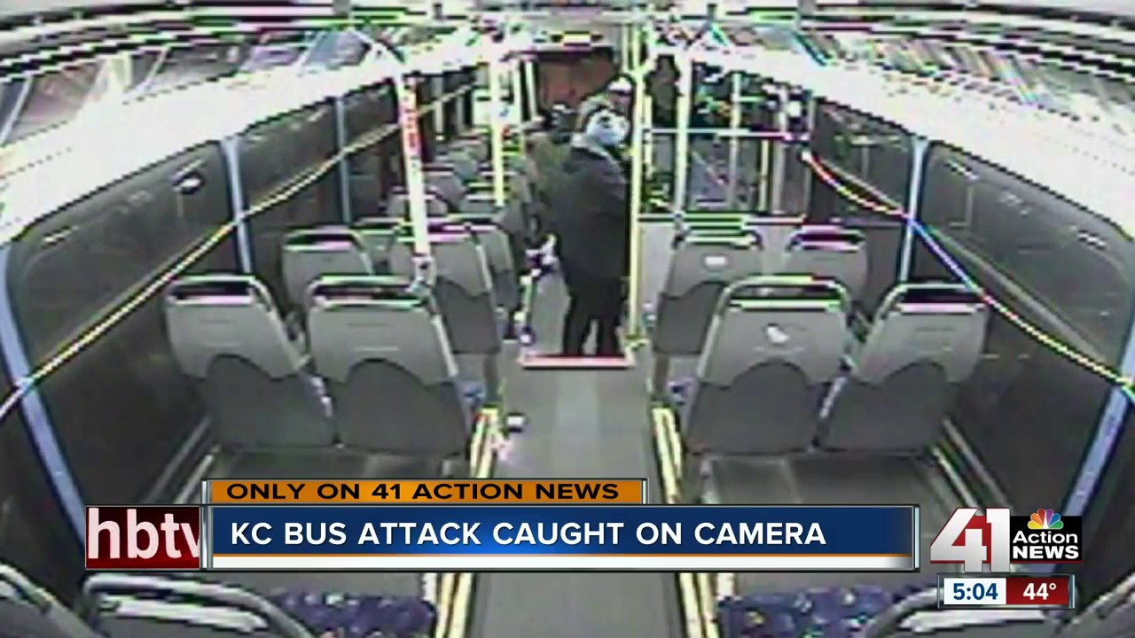 bus driver attacked with cane