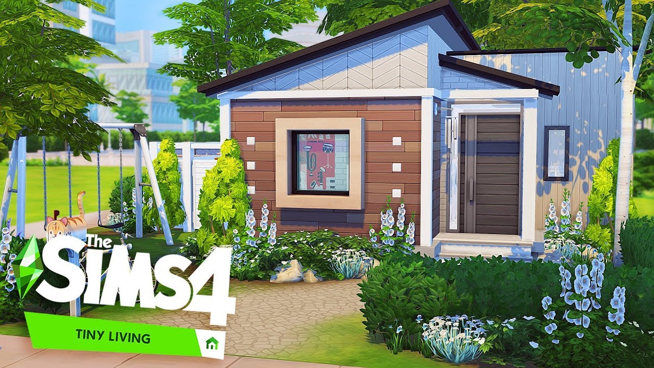 PERFECT TINY FAMILY HOUSE 💕  The Sims 24: Tiny Living  Speed Build