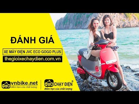 Đánh giá xe máy điện JVC eco Gogo Plus 2020
