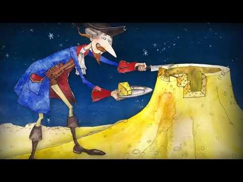 Приключения барона мюнхаузена первое путешествие на луну мультфильм