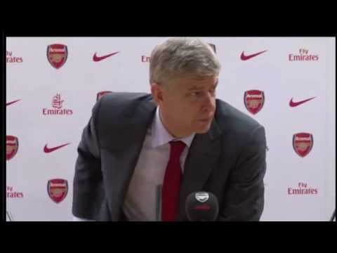 Arsene Wenger Press Conference After 2 1 Victory over Newcastle