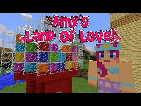 Amy's Land Of Love! Ep.178 GIANT GUMBALL MACHINE! | Amy Lee33