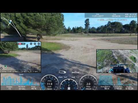 Testing Parrot Bebop 2 Drone 4000mah Battery