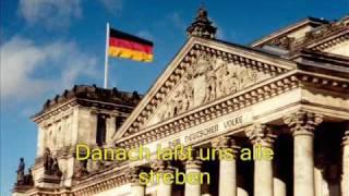 eininkeit und recht und freiheit-Deutschland Nationalhymne