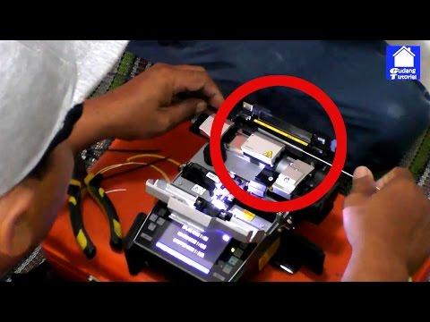 Proses Penyambungan Kabel Fiber Optik Indihome Speedy Telkom