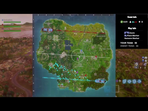 Fortnite Live: 50v50 So Close to 1000 subs