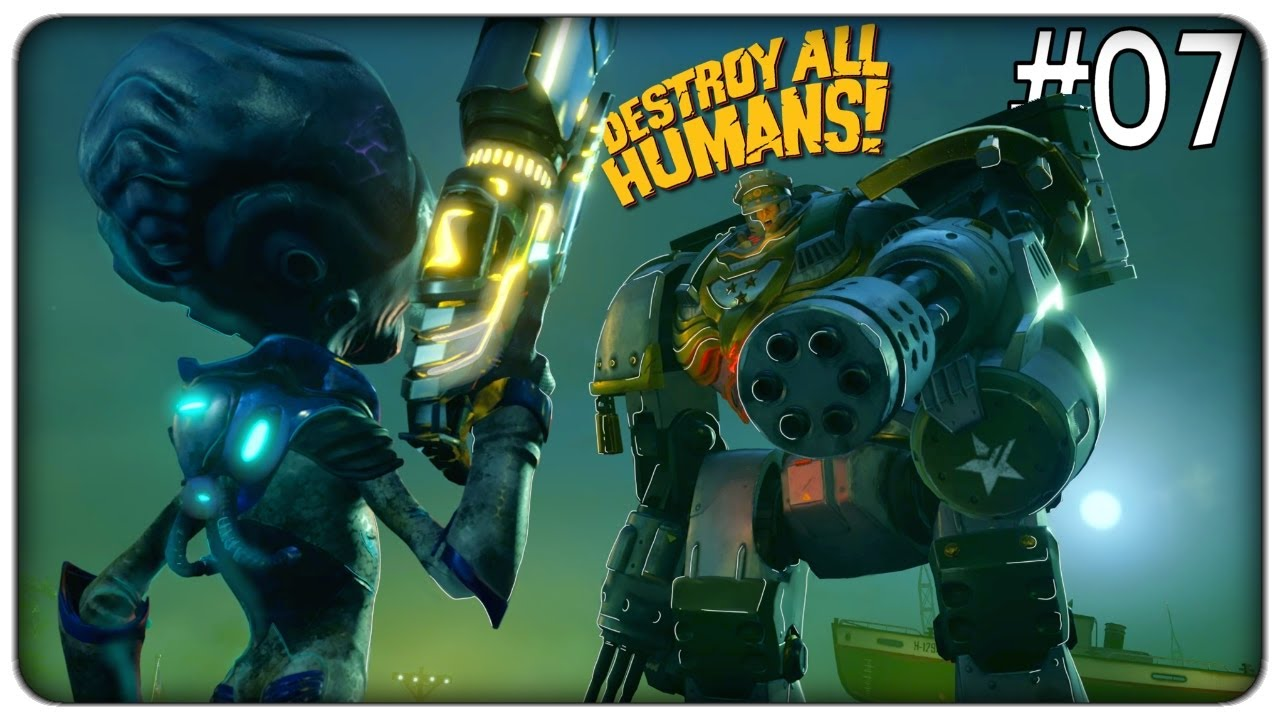 INFILTRIAMOCI A WASHINGTON E SCONFIGGIAMO IL MECH DA BATTAGLIA NEMICO | Destroy all humans - ep. 07