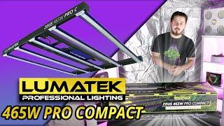 Unboxing de la lampe LED Horticole ZEUS 465W Compact Pro de chez Lumatek