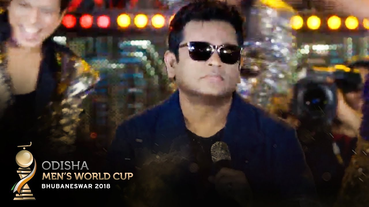 2838d95585a A.R Rahman Performs the Official Song for the Odisha Men s Hockey World Cup  Bhubaneswar 2018!