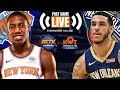 Knicks Loose tight Game to Pelicans in Pre Season closer  | Live Postgame Reaction