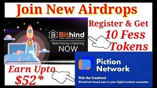 52$ PXL Token Airdrop | 10$ Bithind Exchange New airdrop |