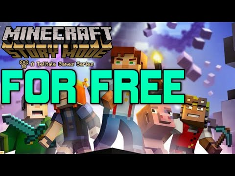 HOW TO GET Episode 1-8 Of Minecraft Story Mode FOR FREE