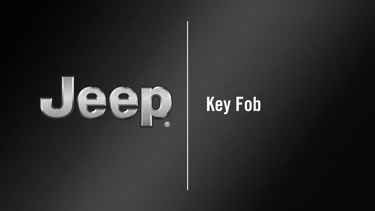 Key Fob How To 2020 Jeep Wrangler Youtube