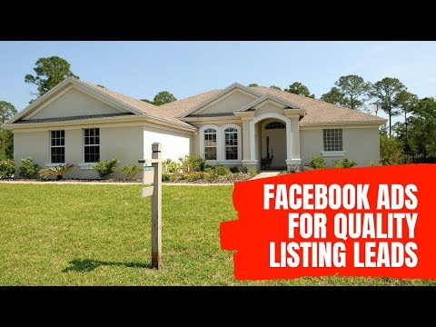 facebook-ads-for-real-estate-listings---high-quality-seller-leads-using-this-strategy